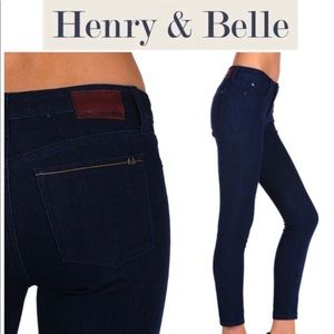 Henry & Belle signature ankle skinny jeans size 26
